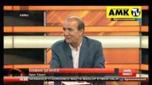 TV Commentator, Osman Senher