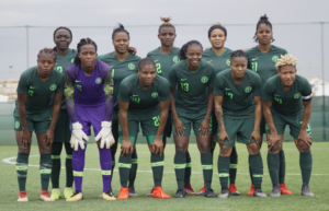 Super Falcons starting Line Up vs UMF Selfoss of Iceland