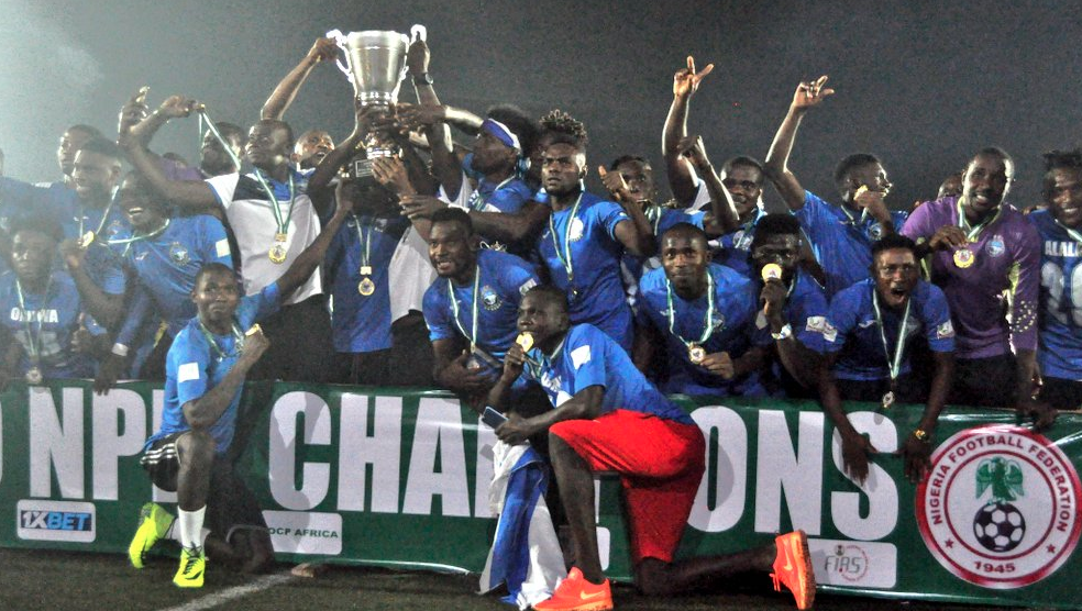 Image result for images of Enyimba Win Record 8th NPFL Title