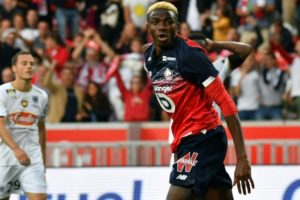 Osimhen has had a fantastic start this season for Lille