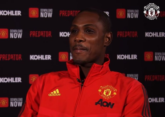 Odion Ighalo already proves love for Manchester United