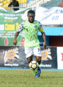 Azubuike Okechukwu Super Eagles midfielder also played for the youth teams of Nigeria